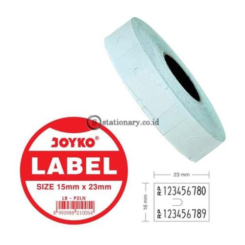 Joyko Label Harga 2 Baris Lb-P2Ln (2 Baris) Office Stationery Equipment