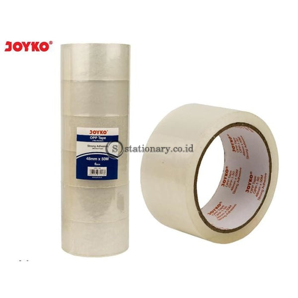 Joyko Lakban Bening Opp Tape 48Mm X 50M #opp-1-50 Office Stationery