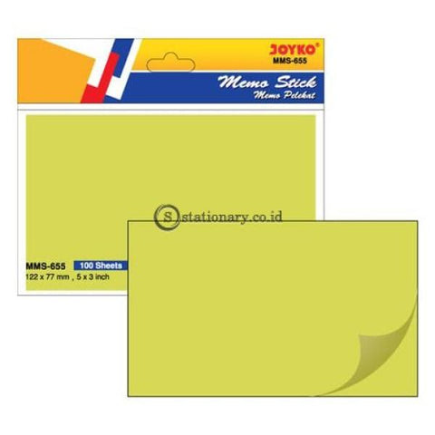 Joyko Memo Sticky Note (127X77Mm) Mms-0655 Office Stationery