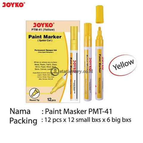Joyko Paint Marker Permanent Opaque Ink Ptm-37-44 Office Stationery