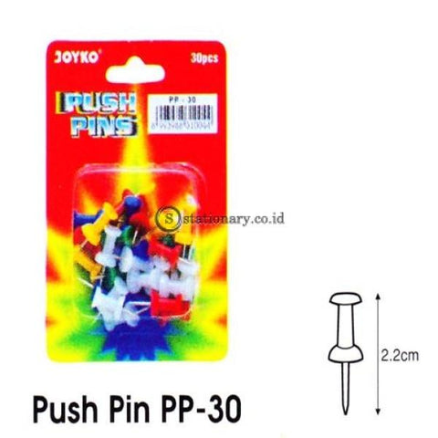 Joyko Paku Push Pin Office Stationery Lain -