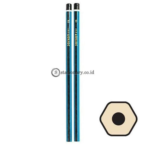 Joyko Pensil 2B For Computer 6161 Office Stationery Lain -