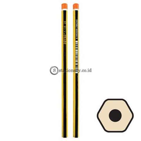 Joyko Pensil 2B For Computer P-105 Office Stationery Lain -