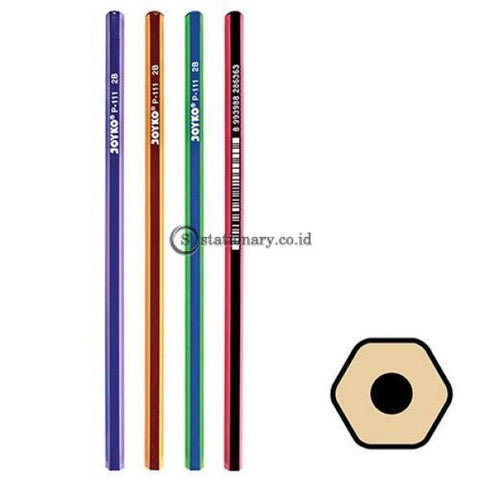 Joyko Pensil 2B For Computer P-111 Office Stationery Lain -