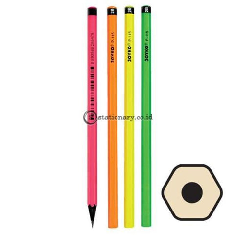 Joyko Pensil 2B Hitam P-115 Office Stationery Lain -