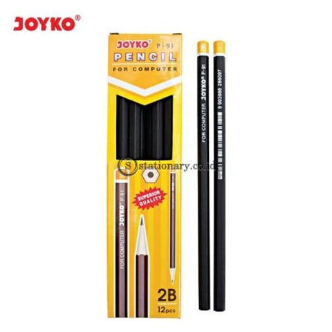 Joyko Pensil 2B P-91 Office Stationery