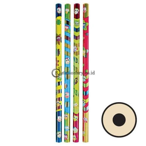 Joyko Pensil Kayu 2B Animal P-114 Office Stationery
