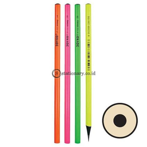 Joyko Pensil Kayu Glowy 2B P-102 Office Stationery