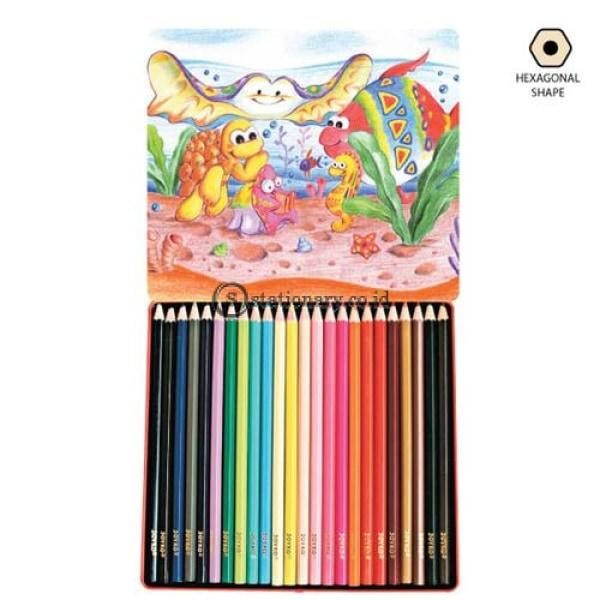 Joyko Pensil Warna 24 Color Pencil Long Cp-24Tc Office Stationery