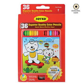 Joyko Pensil Warna 36 Color Pencil Long Cp-36Pb Office Stationery