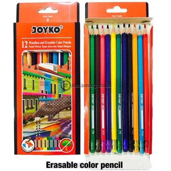 Joyko Pensil Warna Erasable Color Pencil Cp-109 Office Stationery
