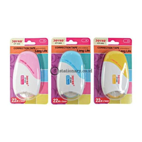 Joyko Pita Koreksi Correction Tape Ct-543 Office Stationery