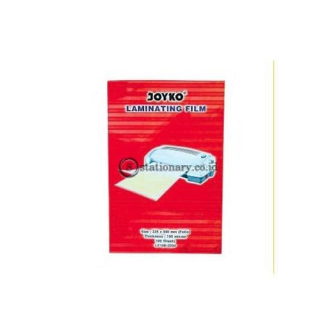 Joyko Plastik Laminating Film 100 Micron F4 (Folio) Lf100-2234 Office Stationery