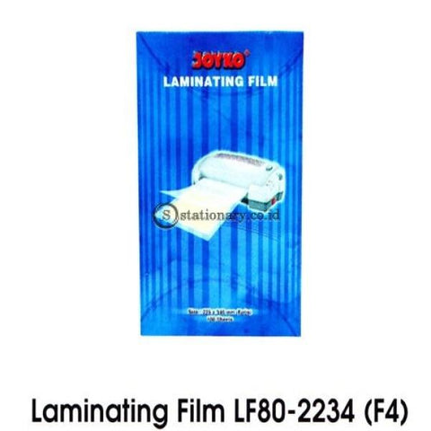 Joyko Plastik Laminating Folio / F4 Office Stationery