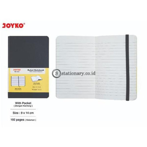 Joyko Ruled Notebook Soft Cover 192 Halaman (9X14Cm) Nb-662 Office Stationery