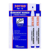 Joyko Spidol Permanent Marker Pm-18 Biru Office Stationery