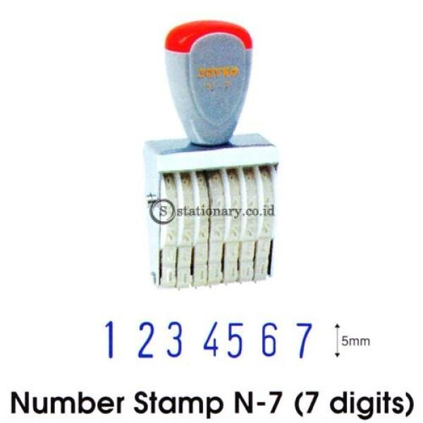 Joyko Stempel Angka 7 Digit N-7 Office Stationery Lain -