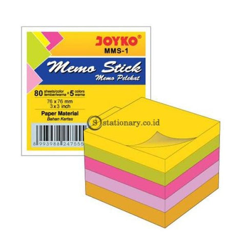Joyko Sticky Notes Memo Stick (75X75Mm) Mms-1 Office Stationery
