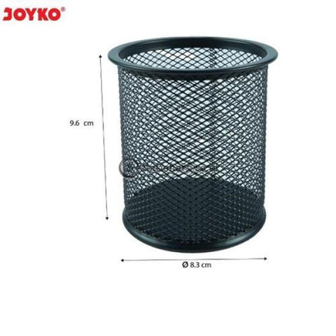 Joyko Tempat Pensil Keranjang Besi Bulat (Diameter 8.3Cm X 9.6Cm) Ds-16 Office Stationery