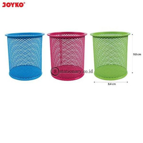 Joyko Tempat Pensil Keranjang Besi Bulat Warna (Diameter 8.4Cm X 9.8Cm) Ds-16Co Office Stationery