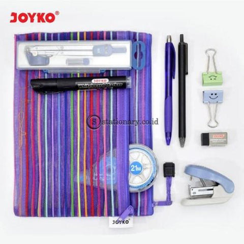 Joyko Zipper Document Bag A5 Dcb-37 Office Stationery