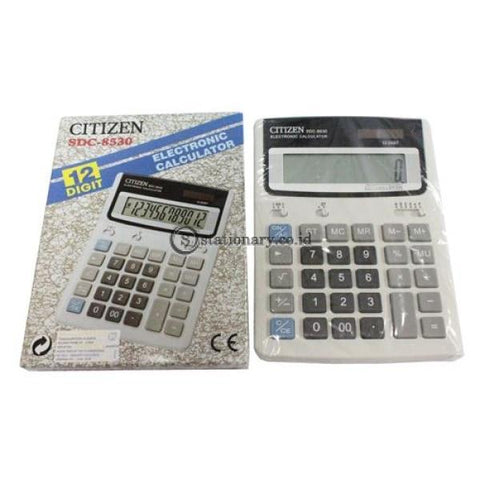Kalkulator Citizen Sdc 8530 Office Stationery