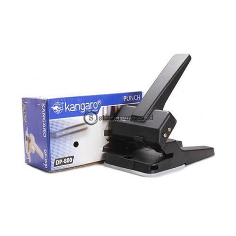 Kangaro Pembolong Kertas Punch Holder Dp-800 (2 Lubang 63 Lembar) Office Stationery