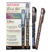 Kenko Ballpoint Easy Gel Premium Batik Signature 1.0Mm Office Stationery