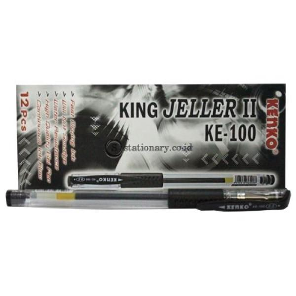 Kenko Ballpoint Gel Pen King Jeller Ke-100 0.5Mm Office Stationery