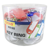 Kenko Gantungan Kunci Key Ring Kr-50 (50Pcs/drum) Office Stationery
