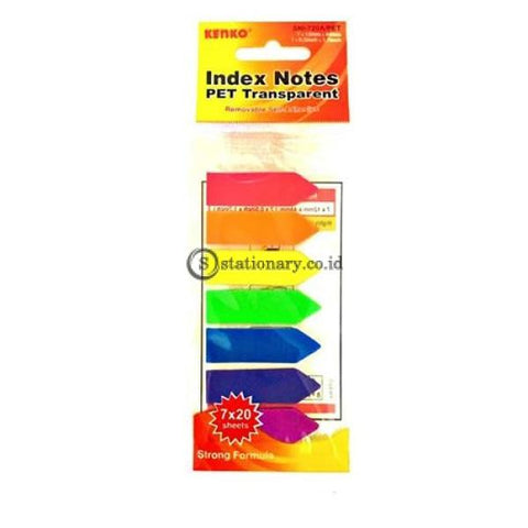 Kenko Index Mark Plastik (7 Colors) Arrow Sni-720A Office Stationery