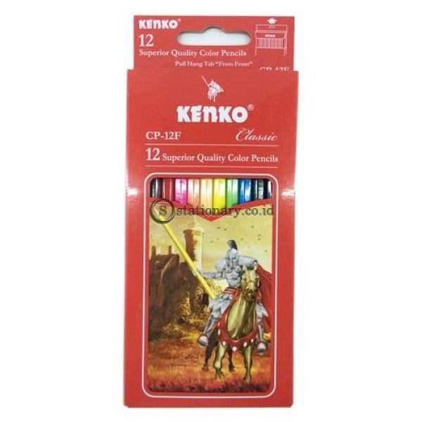 Kenko Pensil Warna 12 Classic Cp-12F Office Stationery