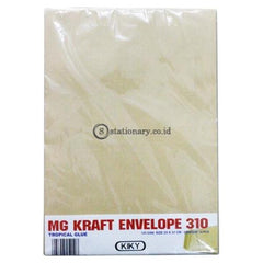 Kiky Amplop Coklat Lem Folio 310 (10Lbr) Office Stationery