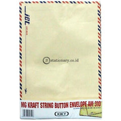 Kiky Amplop Coklat Tali Folio 310 (10Lbr) Office Stationery