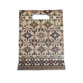 Kiky Gift Paper Bag Pond Batik Ceplok Kawung (80X200X270Mm) Office Stationery