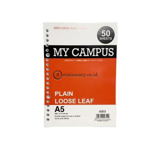 Kiky Loose Leaf My Campus Polos (50Lbr) A5 Office Stationery