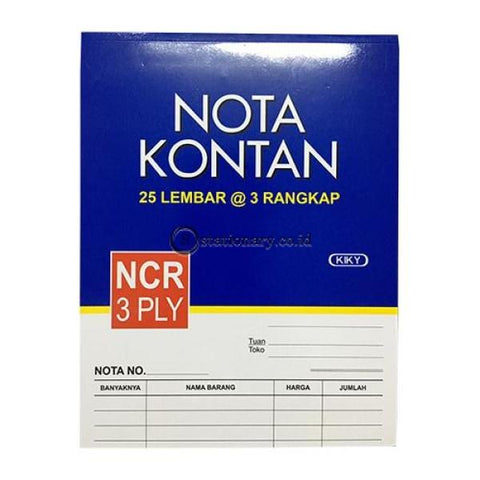 Kiky Nota Kontan Besar Potrait 3 Ply Office Stationery