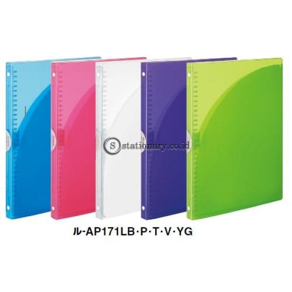 Kokuyo Binder Notebook Pocket A4 L-Ap171 Kokuyo L-Ap171-Pink Office Stationery