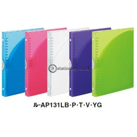 Kokuyo Binder Notebook Pocket A5 L-Ap131 Kokuyo L-Ap131-Pink Office Stationery