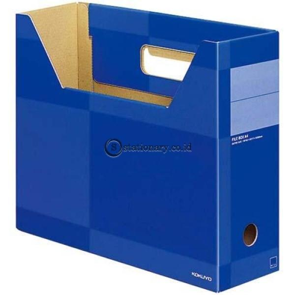 Kokuyo Box File A4 F-Wfb125 F-Wfb125-Blue Office Stationery
