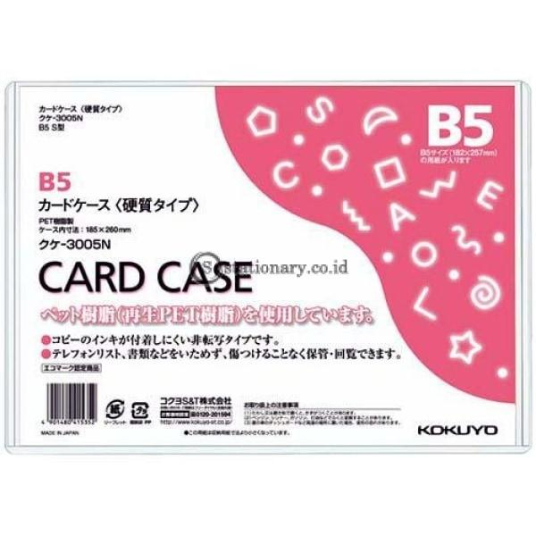 Kokuyo Card Case B5 Kuke-3005N Office Stationery