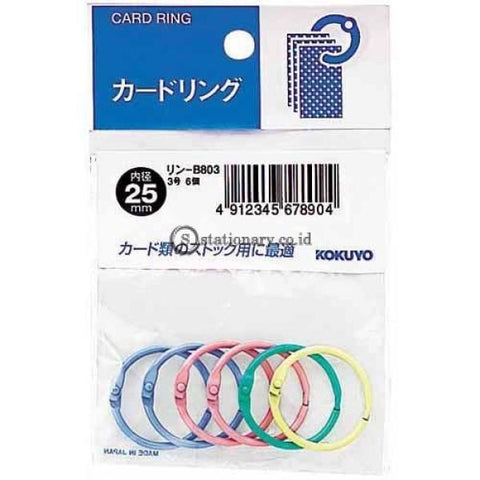 Kokuyo Card Ring 25Mm Warna Rin-B803 Office Stationery