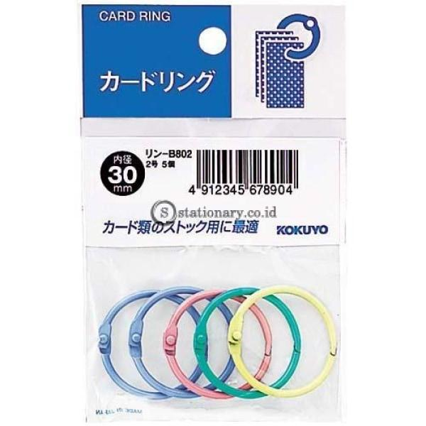 Kokuyo Card Ring 30Mm Warna Rin-B802 Office Stationery