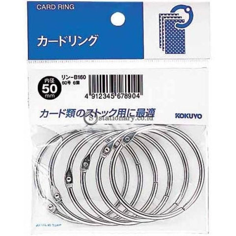Kokuyo Card Ring 50Mm Rin-B160 Office Stationery