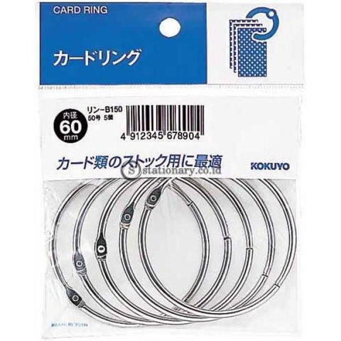 Kokuyo Card Ring 60Mm Rin-B150 Office Stationery
