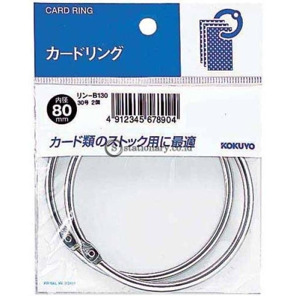 Kokuyo Card Ring 80Mm Rin-B130 Office Stationery