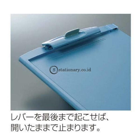 Kokuyo Clipboard A4 Yoha-H78 Yoha-H78-Blue Office Stationery