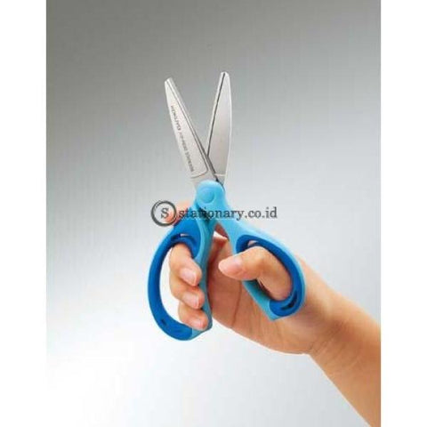 Kokuyo Gunting Stainless Steel Haza-P230 Haza-P230-Blue Office Stationery