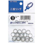 Kokuyo Key Ring 11Mm Rin-211B Office Stationery