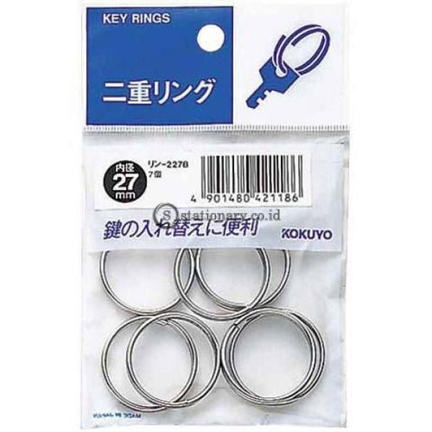 Kokuyo Key Ring 27Mm Rin-227B Office Stationery